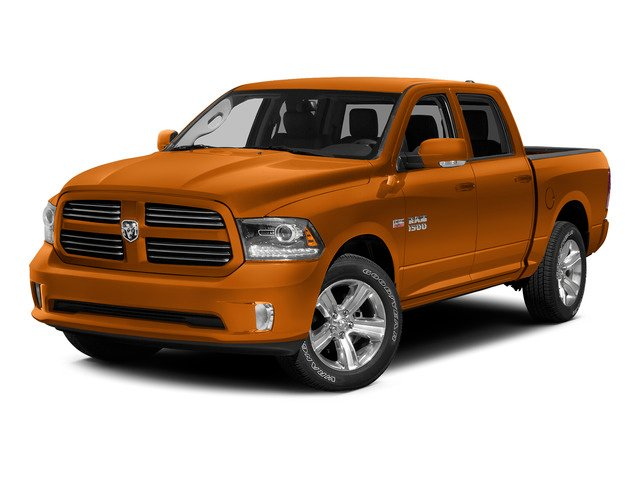 Omaha Orange 2015 Ram Truck 1500 Pictures 1500 Crew Cab SLT 4WD photos front view