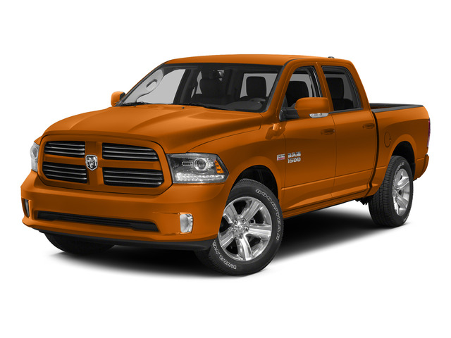 Omaha Orange 2015 Ram Truck 1500 Pictures 1500 Crew Cab Express 4WD photos front view