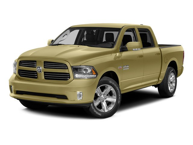 Light Cream 2015 Ram Truck 1500 Pictures 1500 Crew Cab SLT 4WD photos front view