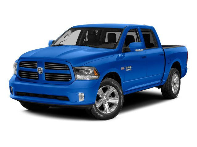 Holland Blue 2015 Ram Truck 1500 Pictures 1500 Crew Cab SLT 4WD photos front view