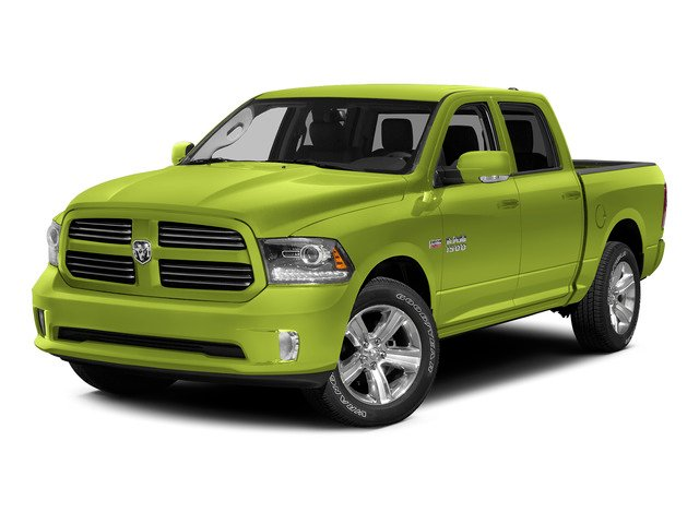 National Safety Yellow 2015 Ram Truck 1500 Pictures 1500 Crew Cab SSV 4WD photos front view