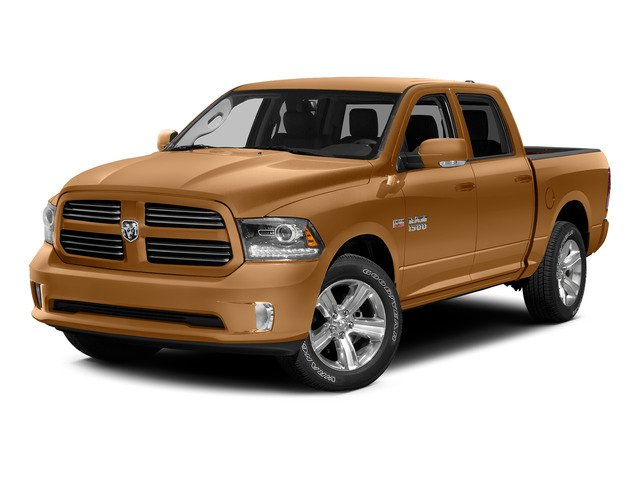 Power Tan 2015 Ram Truck 1500 Pictures 1500 Crew Cab Express 4WD photos front view
