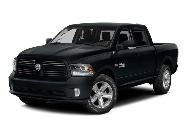Maximum Steel Metallic Clearcoat 2015 Ram Truck 1500 Pictures 1500 Crew Cab SLT 4WD photos front view