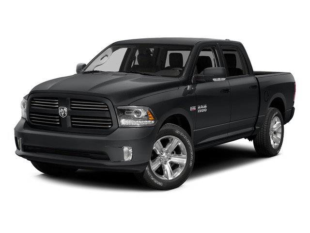 Granite Crystal Metallic Clearcoat 2015 Ram Truck 1500 Pictures 1500 Crew Cab Sport 4WD photos front view