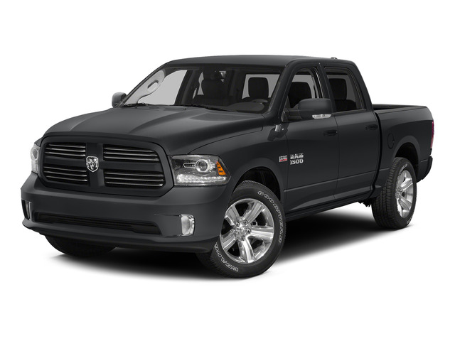 Granite Crystal Metallic Clearcoat 2015 Ram Truck 1500 Pictures 1500 Crew Cab Laramie 4WD photos front view