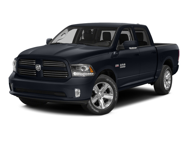 Midnight Blue Pearlcoat 2015 Ram Truck 1500 Pictures 1500 Crew Cab SSV 4WD photos front view