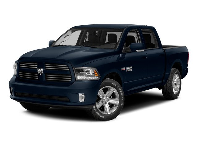 True Blue Pearlcoat 2015 Ram Truck 1500 Pictures 1500 Crew Cab Laramie 2WD photos front view