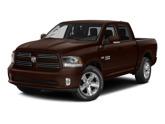 Western Brown 2015 Ram Truck 1500 Pictures 1500 Crew Cab Laramie 4WD photos front view