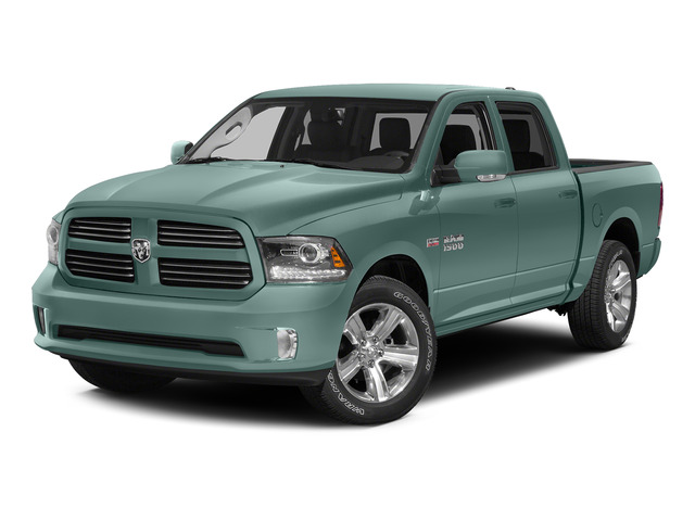 Light Green 2015 Ram Truck 1500 Pictures 1500 Crew Cab SLT 4WD photos front view