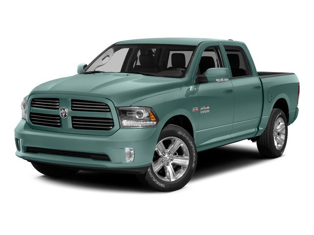 Light Green 2015 Ram Truck 1500 Pictures 1500 Crew Cab Express 4WD photos front view