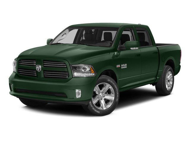 Timberline Green Pearlcoat 2015 Ram Truck 1500 Pictures 1500 Crew Cab SSV 4WD photos front view