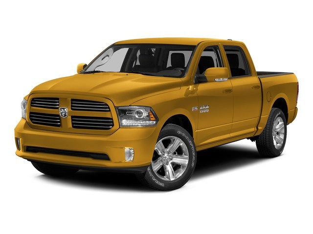School Bus Yellow 2015 Ram Truck 1500 Pictures 1500 Crew Cab SSV 4WD photos front view