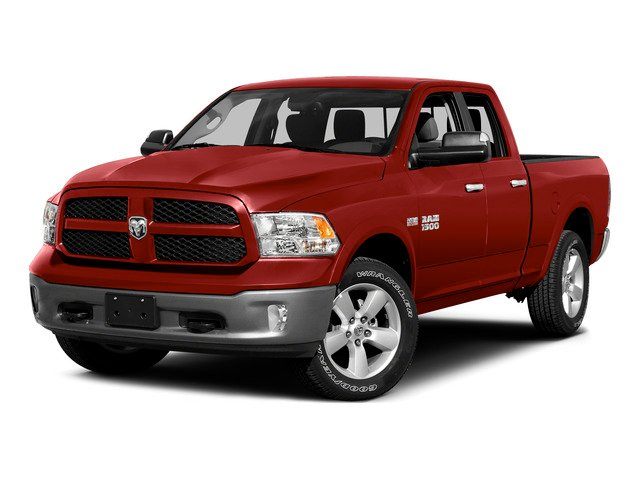 Bright Red 2015 Ram Truck 1500 Pictures 1500 Quad Cab Express 4WD photos front view