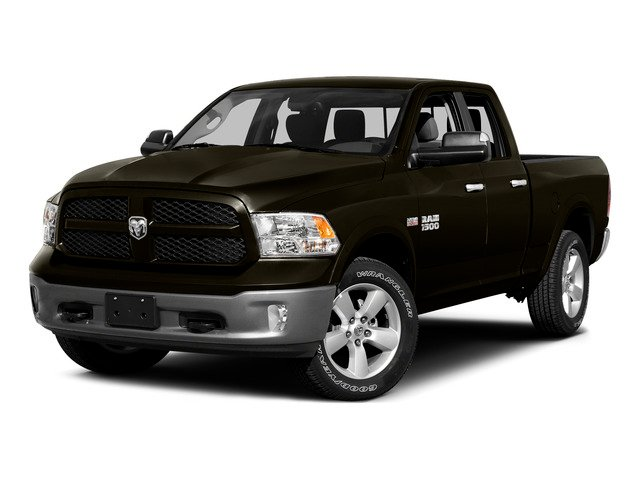 Dark Brown 2015 Ram Truck 1500 Pictures 1500 Quad Cab SLT 2WD photos front view