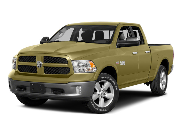 Light Cream 2015 Ram Truck 1500 Pictures 1500 Quad Cab SLT 2WD photos front view