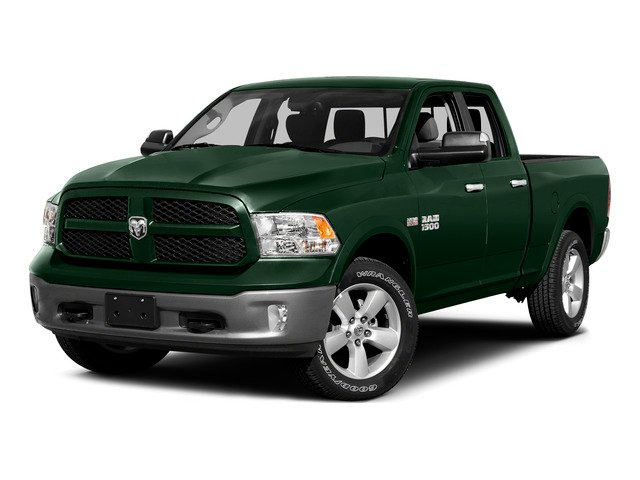 Timberline Green Pearlcoat 2015 Ram Truck 1500 Pictures 1500 Quad Cab SLT 4WD photos front view