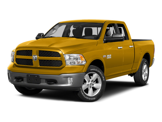 School Bus Yellow 2015 Ram Truck 1500 Pictures 1500 Quad Cab Express 2WD photos front view
