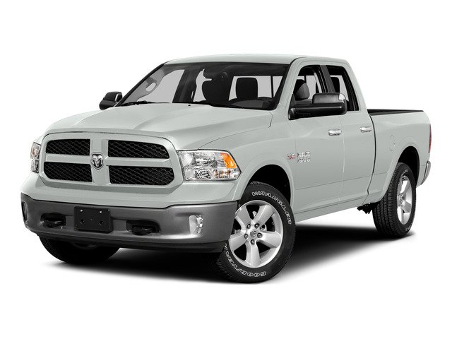 Bright White Clearcoat 2015 Ram Truck 1500 Pictures 1500 Quad Cab Express 4WD photos front view