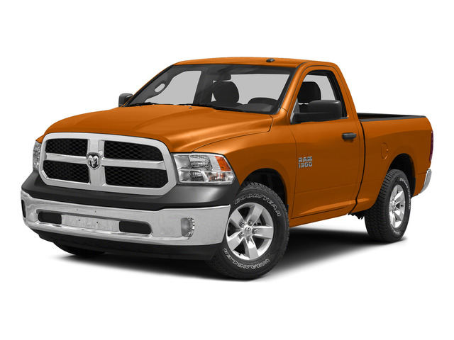 Omaha Orange 2015 Ram Truck 1500 Pictures 1500 Regular Cab SLT 2WD photos front view