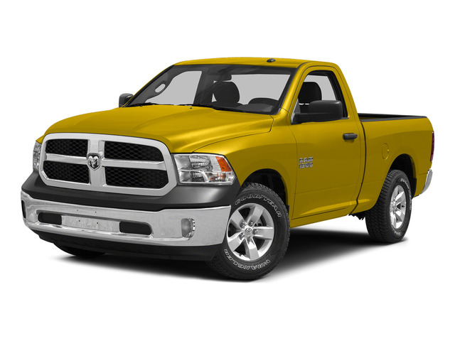 Yellow 2015 Ram Truck 1500 Pictures 1500 Regular Cab SLT 2WD photos front view