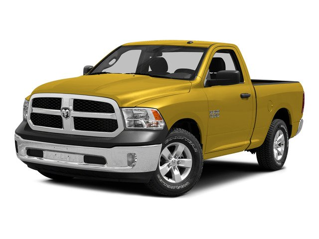 Yellow 2015 Ram Truck 1500 Pictures 1500 Regular Cab SLT 4WD photos front view