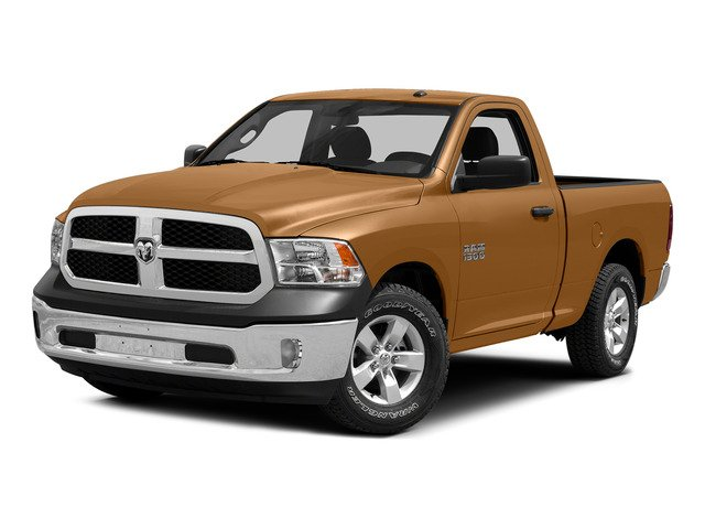Power Tan 2015 Ram Truck 1500 Pictures 1500 Regular Cab SLT 2WD photos front view