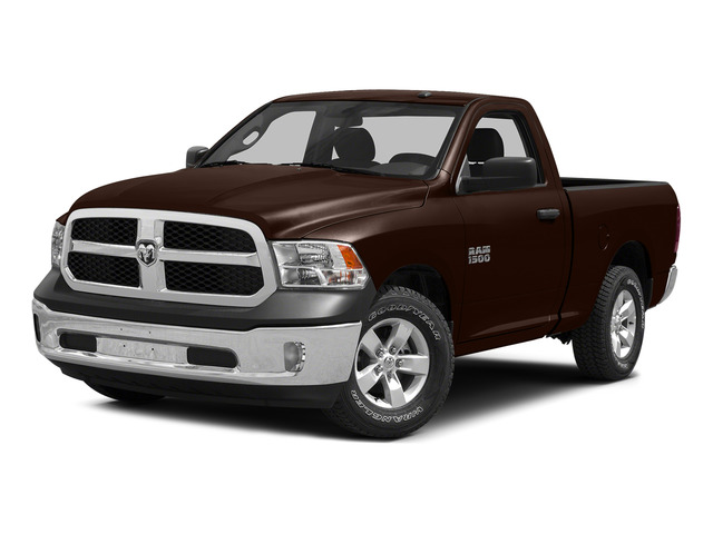 Western Brown 2015 Ram Truck 1500 Pictures 1500 Regular Cab SLT 2WD photos front view