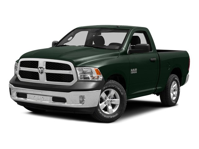 Black Forest Green Pearlcoat 2015 Ram Truck 1500 Pictures 1500 Regular Cab SLT 4WD photos front view