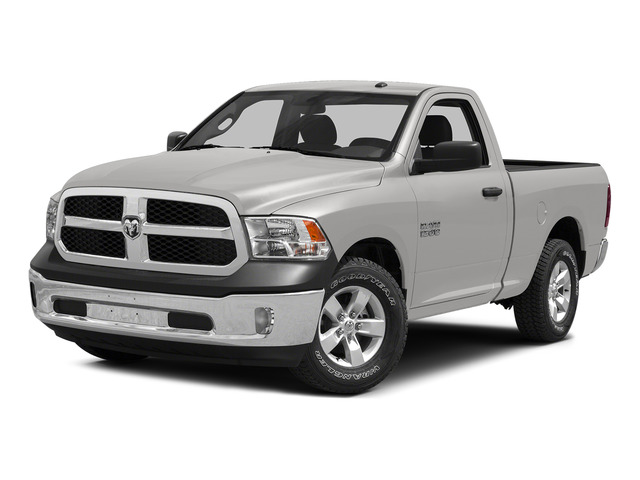 Bright Silver Metallic Clearcoat 2015 Ram Truck 1500 Pictures 1500 Regular Cab SLT 4WD photos front view