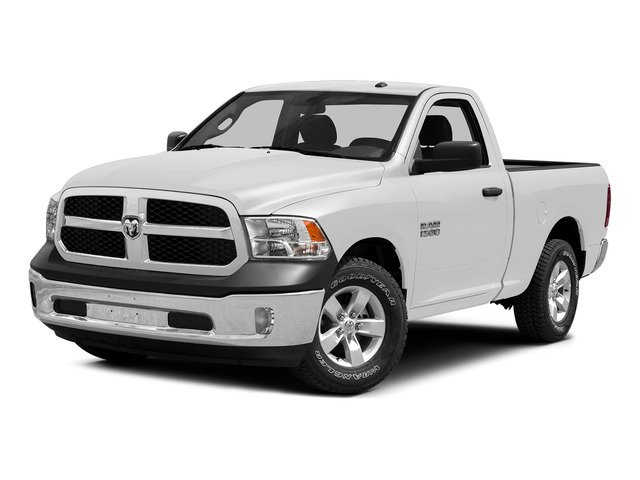 Bright White Clearcoat 2015 Ram Truck 1500 Pictures 1500 Regular Cab SLT 2WD photos front view