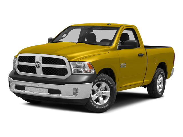 Detonator Yellow Clearcoat 2015 Ram Truck 1500 Pictures 1500 Regular Cab SLT 4WD photos front view