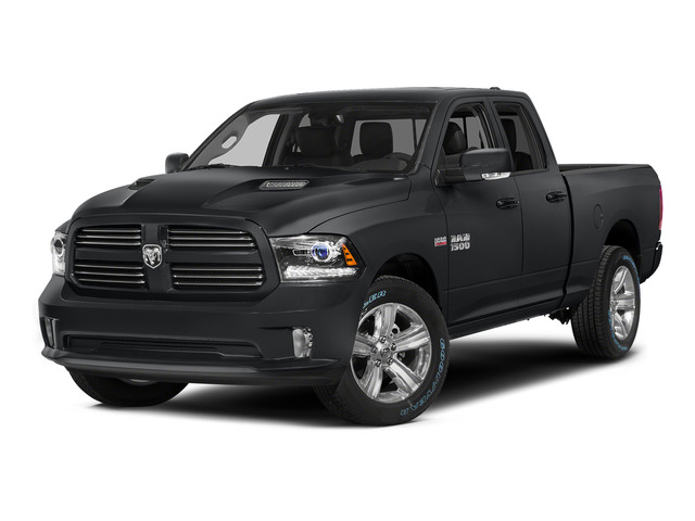 Granite Crystal Metallic Clearcoat 2015 Ram Truck 1500 Pictures 1500 Quad Cab Sport 2WD photos front view