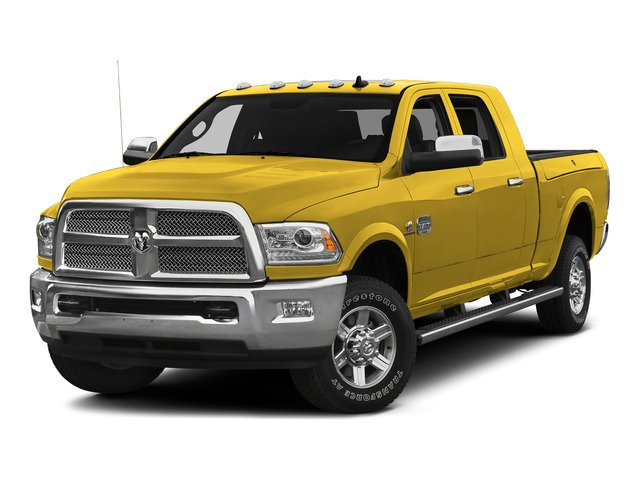 Yellow 2015 Ram Truck 2500 Pictures 2500 Mega Cab SLT 2WD photos front view