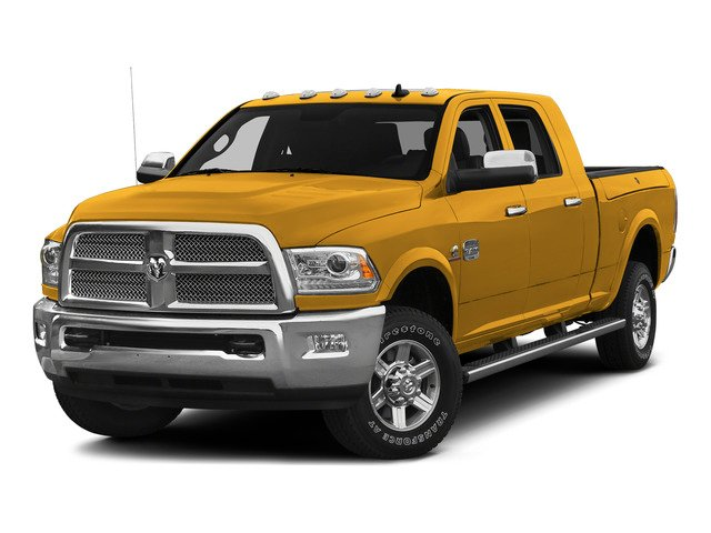 Construction Yellow 2015 Ram Truck 2500 Pictures 2500 Mega Cab SLT 2WD photos front view