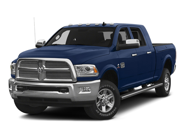 True Blue Pearlcoat 2015 Ram Truck 2500 Pictures 2500 Mega Cab Limited 2WD photos front view