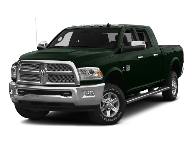Black Forest Green Pearlcoat 2015 Ram Truck 2500 Pictures 2500 Mega Cab SLT 2WD photos front view