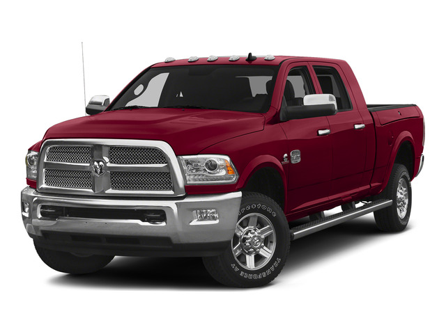 Flame Red Clearcoat 2015 Ram Truck 2500 Pictures 2500 Mega Cab SLT 2WD photos front view