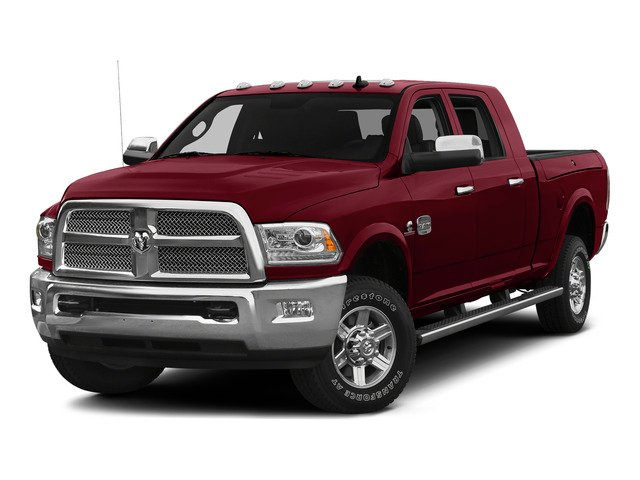 Deep Cherry Red Crystal Pearlcoat 2015 Ram Truck 2500 Pictures 2500 Mega Cab Limited 2WD photos front view