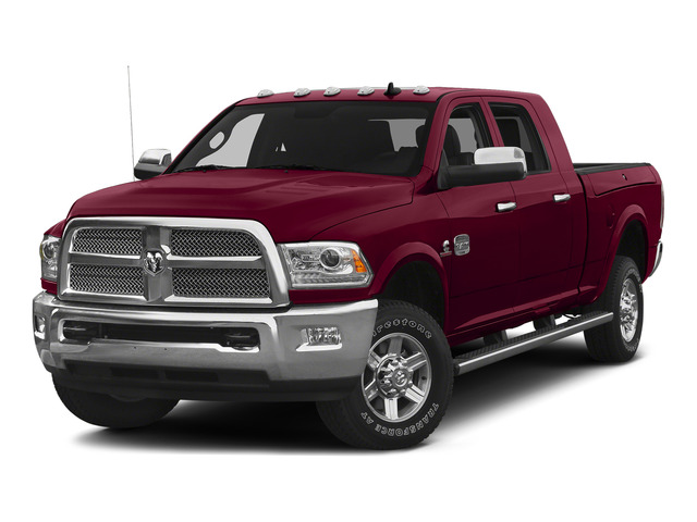 Deep Cherry Red Crystal Pearlcoat 2015 Ram Truck 2500 Pictures 2500 Mega Cab Longhorn 2WD photos front view