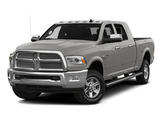 Bright Silver Metallic Clearcoat 2015 Ram Truck 2500 Pictures 2500 Mega Cab Limited 2WD photos front view