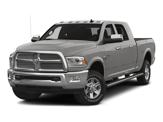 Bright Silver Metallic Clearcoat 2015 Ram Truck 2500 Pictures 2500 Mega Cab SLT 2WD photos front view