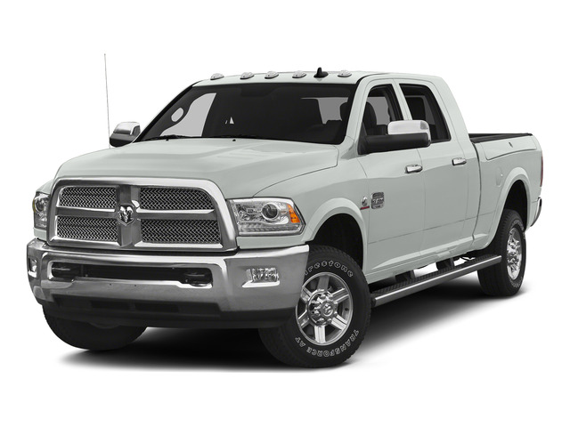 Bright White Clearcoat 2015 Ram Truck 2500 Pictures 2500 Mega Cab Limited 2WD photos front view