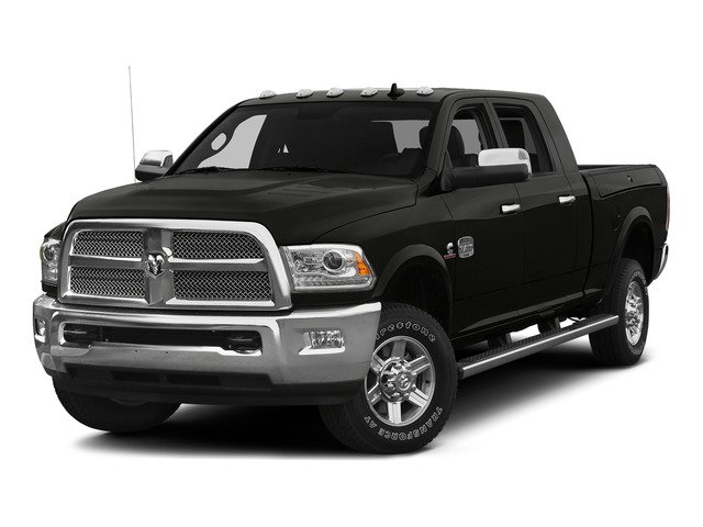 Black Clearcoat 2015 Ram Truck 2500 Pictures 2500 Mega Cab Limited 2WD photos front view