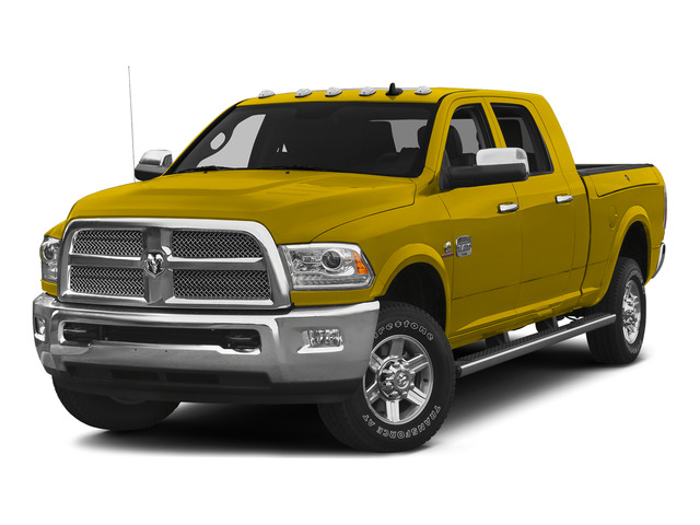 Detonator Yellow Clearcoat 2015 Ram Truck 2500 Pictures 2500 Mega Cab SLT 2WD photos front view