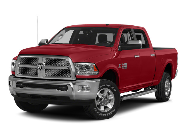 Bright Red 2015 Ram Truck 2500 Pictures 2500 Crew Cab SLT 4WD photos front view
