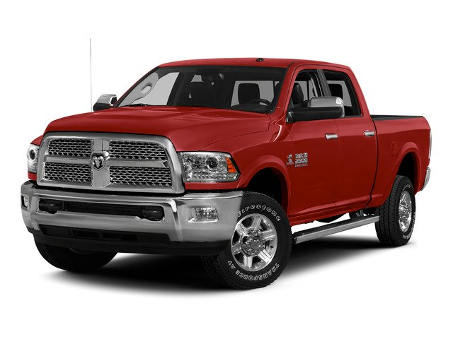 Bright Red 2015 Ram Truck 2500 Pictures 2500 Crew Cab Tradesman 4WD photos front view