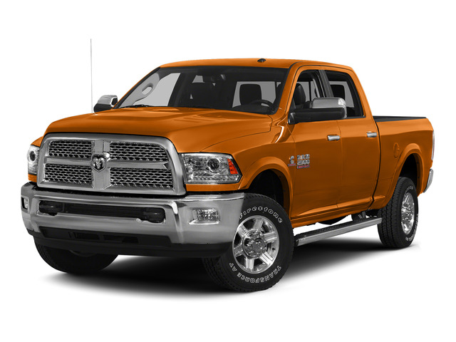 Omaha Orange 2015 Ram Truck 2500 Pictures 2500 Crew Cab SLT 4WD photos front view