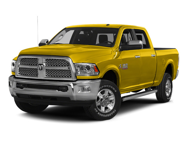Yellow 2015 Ram Truck 2500 Pictures 2500 Crew Cab SLT 4WD photos front view
