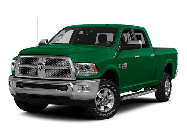 Bright Green 2015 Ram Truck 2500 Pictures 2500 Crew Cab Tradesman 4WD photos front view