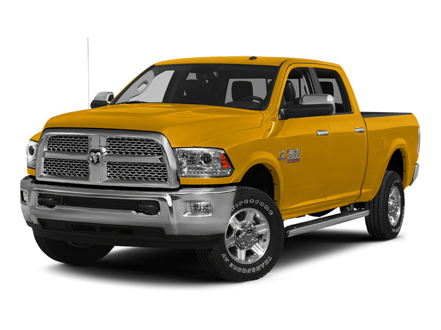 Construction Yellow 2015 Ram Truck 2500 Pictures 2500 Crew Cab SLT 4WD photos front view